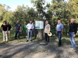 Eröffnung der Georoute Wasserweg am 19. September 2020